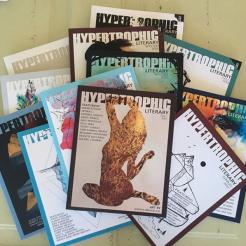 Three years of Hypertrophic Literary
