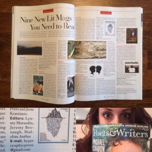 Poets & Writers feature